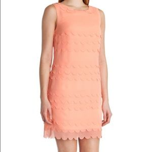 Ted Baker PRISCIL Tiered scallop edge dress